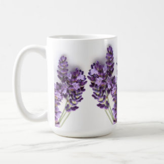 Lavender Mug- Provence Basic White Mug