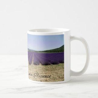 Lavender of Provence Basic White Mug