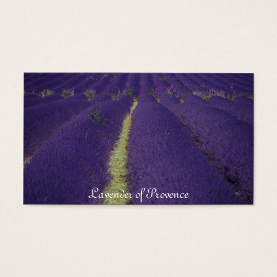 Lavender of Provence Business Card