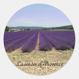 Lavender of Provence Classic Round Sticker