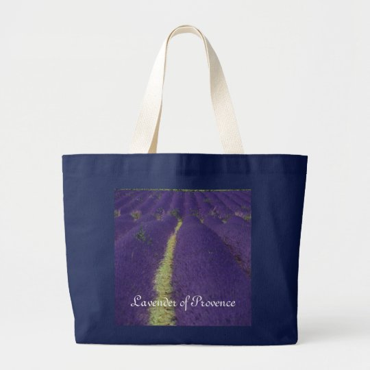 Lavender of Provence Large Tote Bag