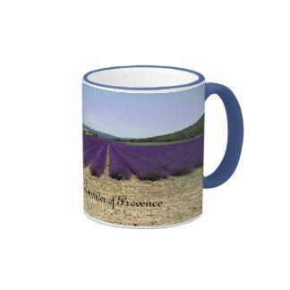 Lavender of Provence Ringer Mug