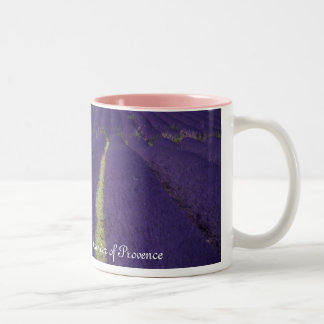Lavender of Provence Two-Tone Coffee Mug