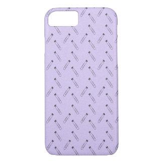 lavender paper clip phone case