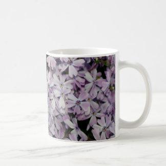 Lavender Phlox Basic White Mug