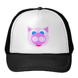 Lavender piggy hat