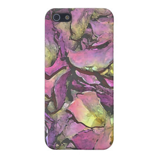 Lavender Pink Rose Petals Watercolor Case For iPhone 5/5S
