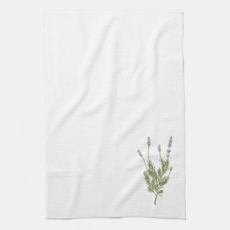 Lavender Plant Kitchen Towel
