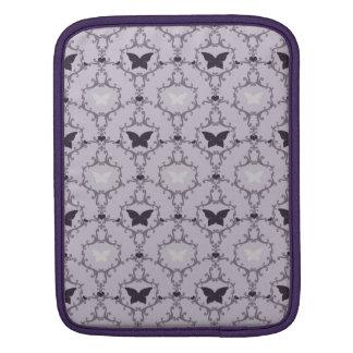 Lavender purple butterfly damask butterflies case