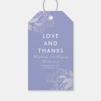Lavender Purple Elegant Foliage Modern Wedding