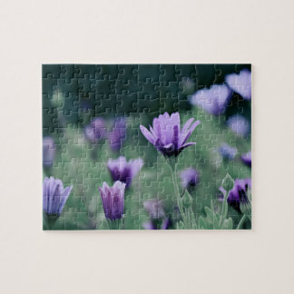 Lavender Purple Flowers Jigsaw Puzzle