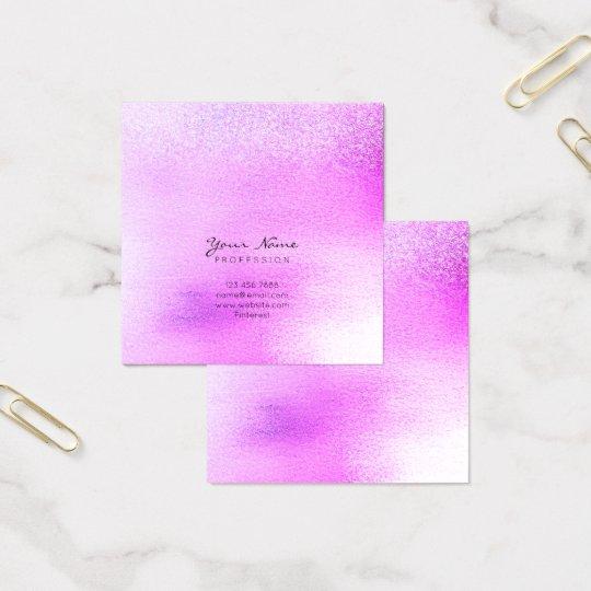 Lavender Purple Lilac Pink Rose Ombre Square Vip