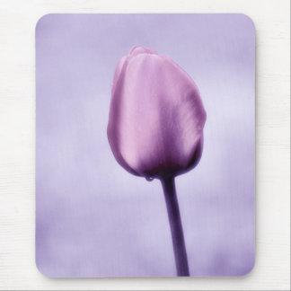 Lavender Purple Tulip Romance Mouse Mat