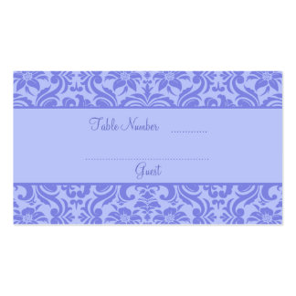 Lavender Purple Wedding Reception Table Place Card Pack Of Standard Business Cards