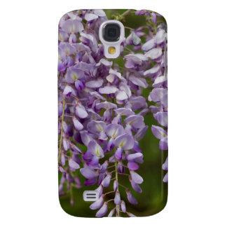 Lavender Purple Wisteria Wildflower Vine Galaxy S4 Case