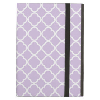 Lavender Quatrefoil iPad Air Case