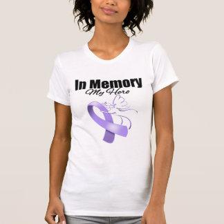 Lavender Ribbon In Memory of My Hero Shirt