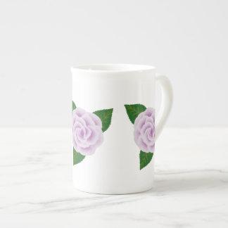 Lavender Rose Bone China Mug Tea Cup