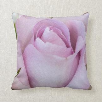 Lavender Rose Bud Pillow Throw Cushion
