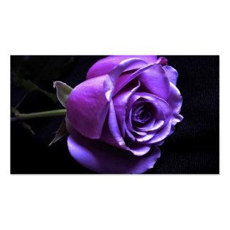 lavender rose business cards