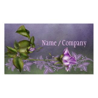 Lavender Rose Pack Of Standard Business Cards
