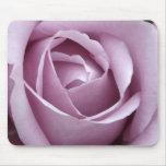 Lavender Rose Flower Mouse Pad