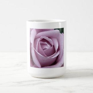 Lavender Rose Flower Mugs