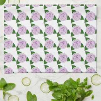 Lavender Rose Kitchen Towel