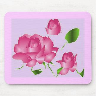 Lavender Rose Mousepad Mouse Pad