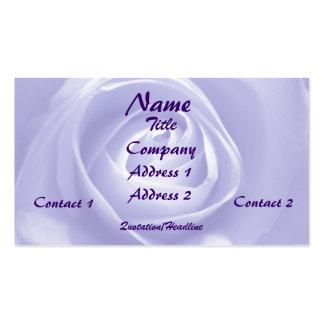 Lavender Rose, Profile Card Business Card Templates