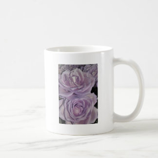 Lavender Roses collection Basic White Mug