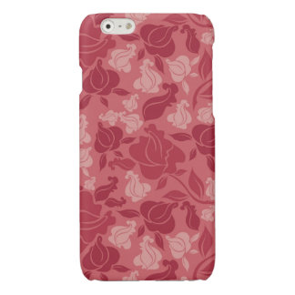 Lavender Roses Glossy iPhone 6 Case