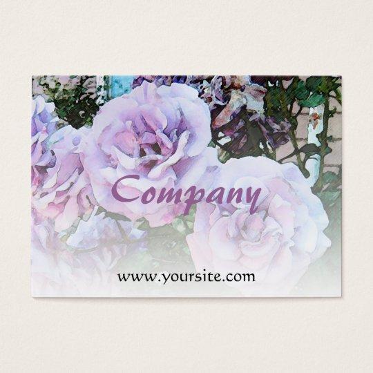 Lavender Roses Light Blend Business Card