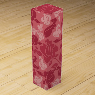 Lavender Roses Wine Boxes
