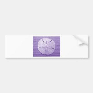 Lavender Sand Dollar Bumper Sticker