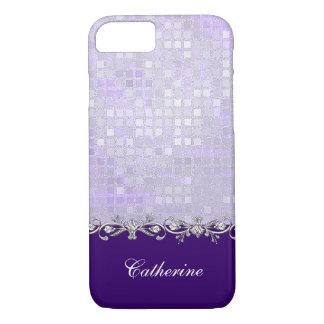 Lavender Sequins iPhone 7 Case