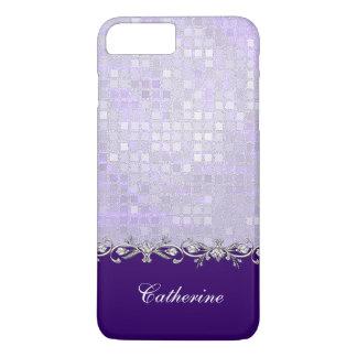 Lavender Sequins iPhone 7 Plus Case