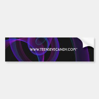 Lavender Smoke Bumper Stickers