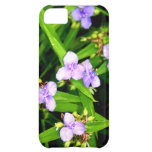 Lavender Spider Flower Cover For iPhone 5C