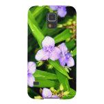 Lavender Spider Flower Galaxy Nexus Cover