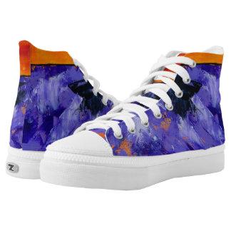 Lavender Splash Sneakers