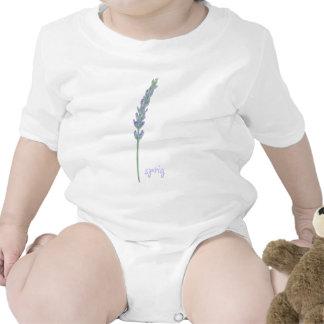 Lavender Sprig Baby Creeper
