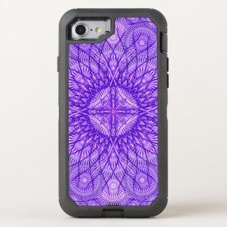 Lavender Star Mandala OtterBox Defender iPhone 7 Case