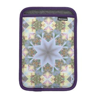 Lavender Starburst Rickshaw iPad Mini Sleeve