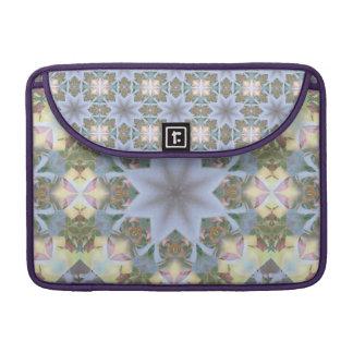 Lavender Starburst Rickshaw Macbook Pro Sleeve