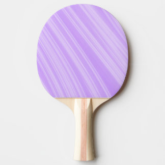 Lavender Stripes Ping Pong Paddle