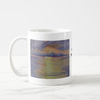 Lavender Sunrise Mugs
