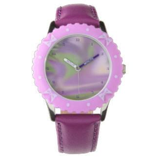 Lavender Swirl Watch