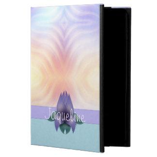 Lavender Teal Floral Powis iPad Air 2 Case