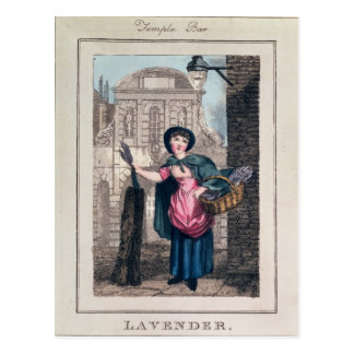 Lavender, Temple Bar, from 'Cries of London' Postcard